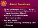council organization
