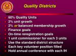 quality districts