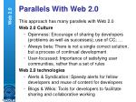 parallels with web 2 0
