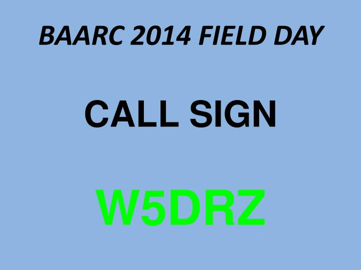 baarc 2014 field day n.