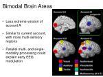 bimodal brain areas