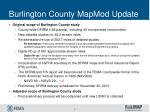 burlington county mapmod update