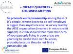 crearif quartiers a business meeting
