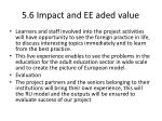 5 6 impact and ee aded value