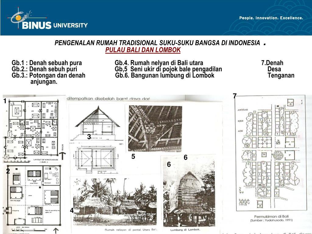 PPT Matakuliah R0772 – Arsitektur Tradisional Tahun