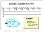 example dijkstra s algorithm