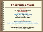friedreich s ataxia