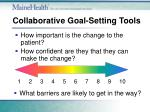 collaborative goal setting tools