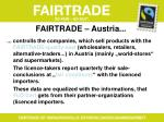fairtrade austria