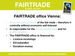fairtrade office vienna