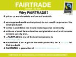 why fairtrade