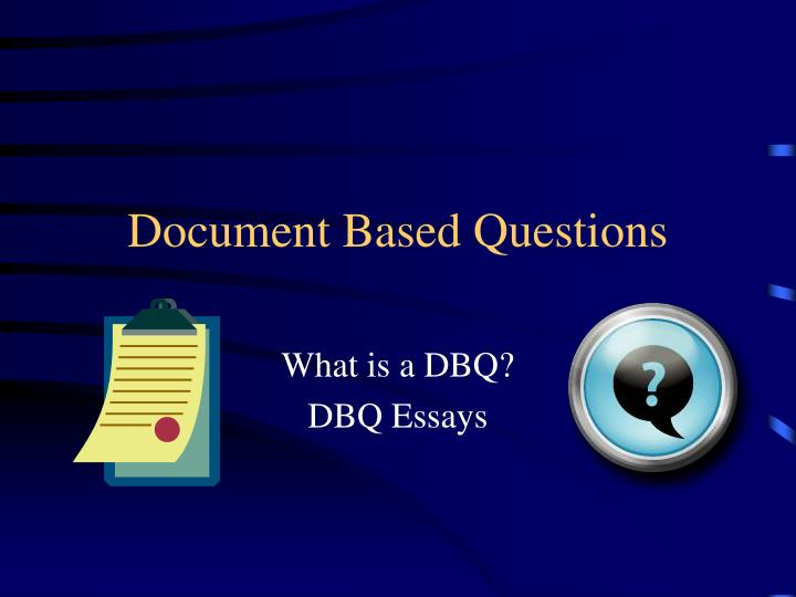 document based questions n.