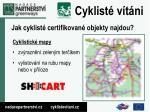 jak cyklist certifikovan objekty najdou1
