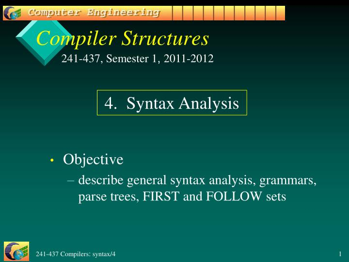 compiler structures n.