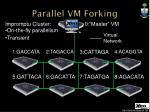 parallel vm forking