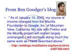 from ben goodger s blog