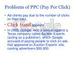 problems of ppc pay per click