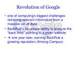 revolution of google