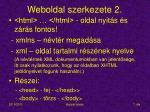 weboldal szerkezete 2