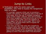 jump to links1