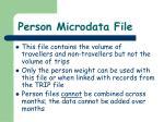 person microdata file2