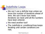 indefinite loops1