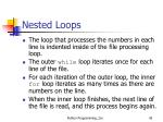 nested loops5