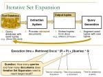 iterative set expansion