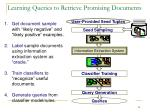 learning queries to retrieve promising documents
