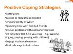positive coping strategies