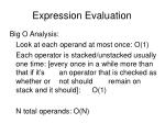 expression evaluation12