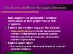 conclusion and future research directions