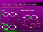 example a system and a property