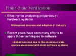 finite state verification1