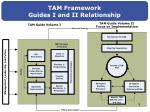tam framework guides i and ii relationship