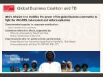 global business coalition and tb