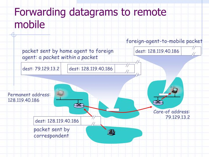foreign-agent-to-mobile packet