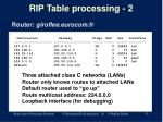 rip table processing 2