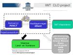 iwt clo project