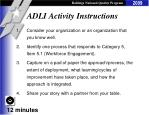 adli activity instructions