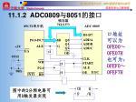11 1 2 adc0809 8051