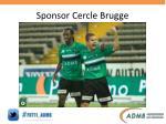 sponsor cercle brugge