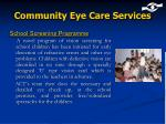 community eye care services1