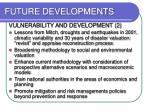 future developments1