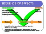 sequence of effects