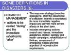 some definitions in disasters 6