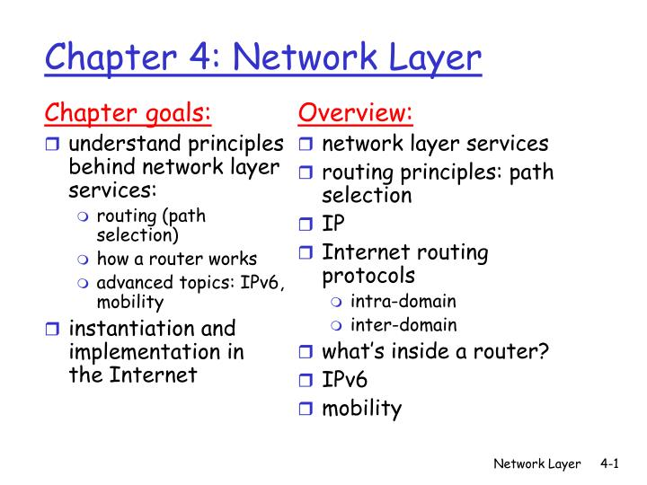 chapter 4 network layer n.