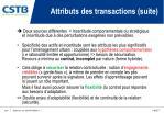 attributs des transactions suite1