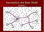 assumptions and basic model cont1