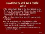 assumptions and basic model cont4